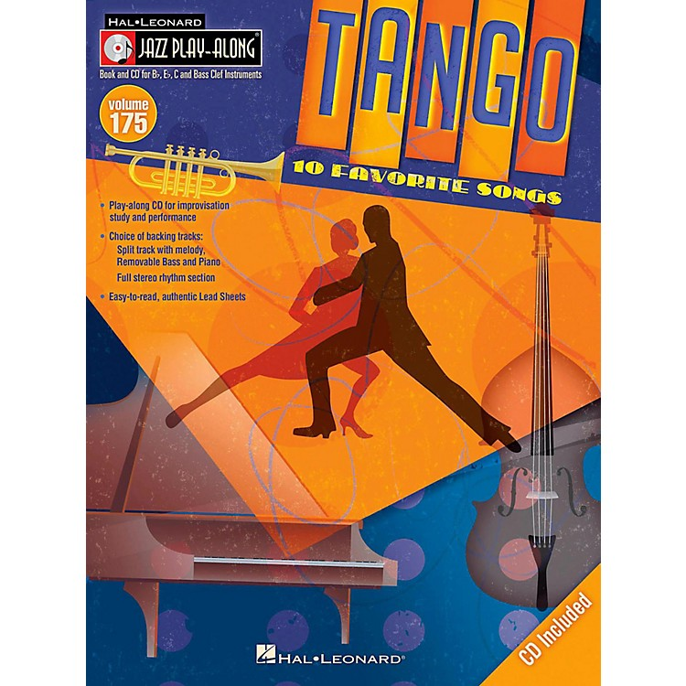 Hal Leonard Tango - Jazz Play-Along Volume 175 Book/CD