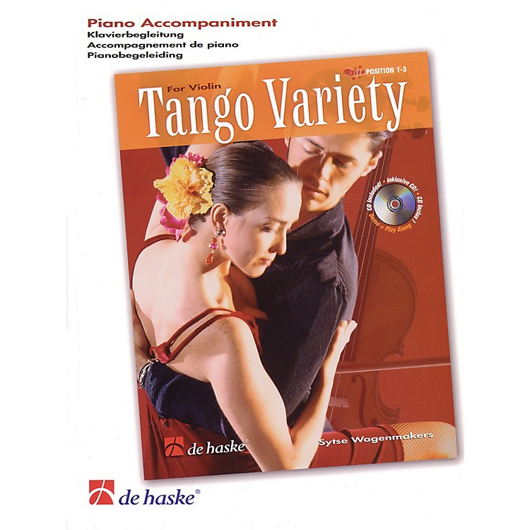 De Haske MusicTango Variety for Violin (Piano Accompaniment) De Haske Play-Along Book Series by Sytse Wagenmakers