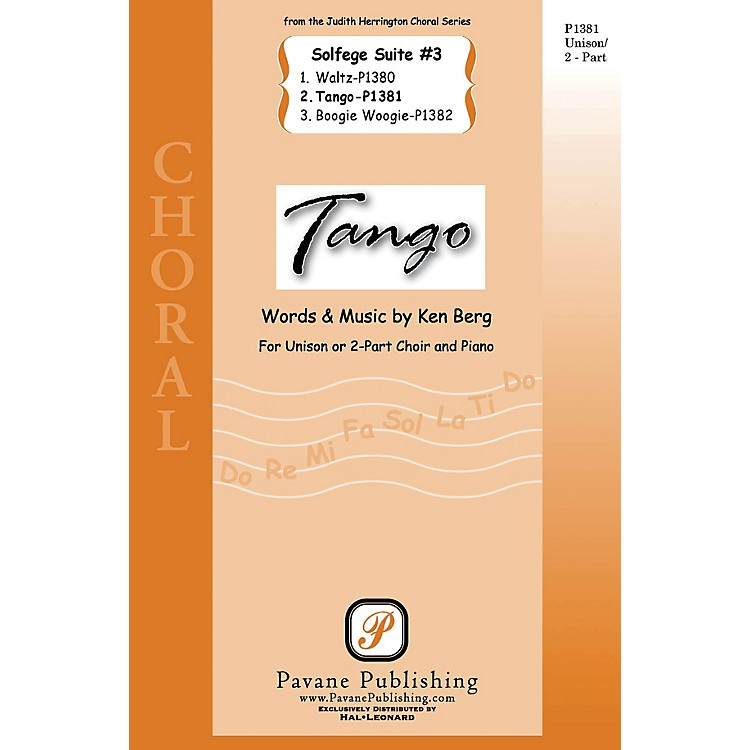 Pavane Tango (from Solfege Suite #3) 2-Part composed by Ken Berg