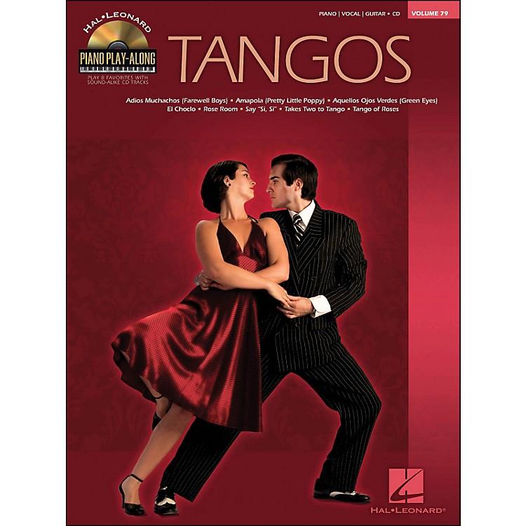 Hal LeonardTangos - Piano Play-Along Volume 79 (CD/Pkg) arranged for piano, vocal, and guitar (P/V/G)