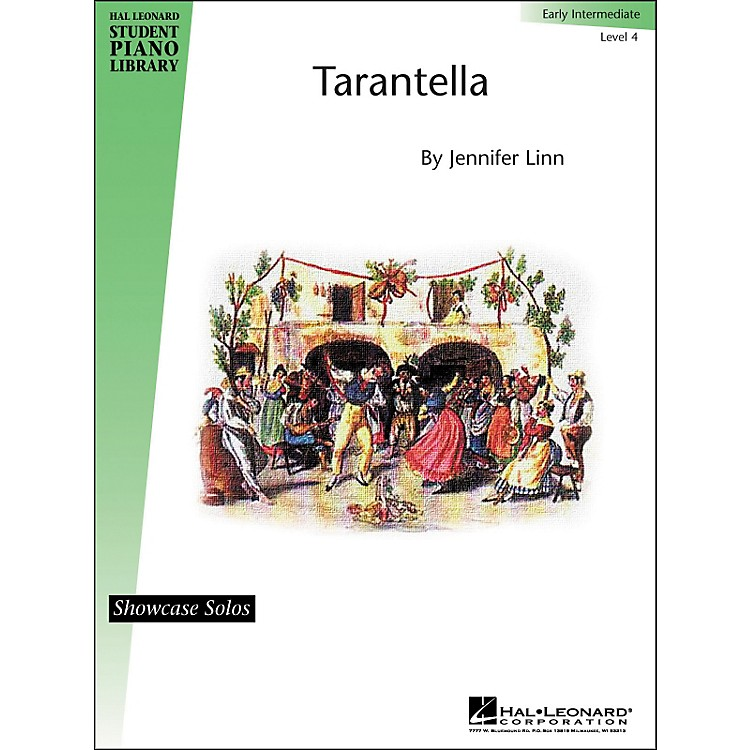 Hal LeonardTarantella Early Intermediate Level 4 Showcase Solos Hal Leonard Student Piano Library by Jennifer Linn