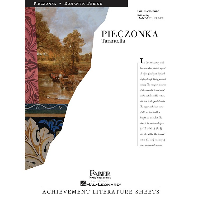 Faber Piano AdventuresTarantella Faber Piano Adventures® Series Composed by Albert Pieczonka