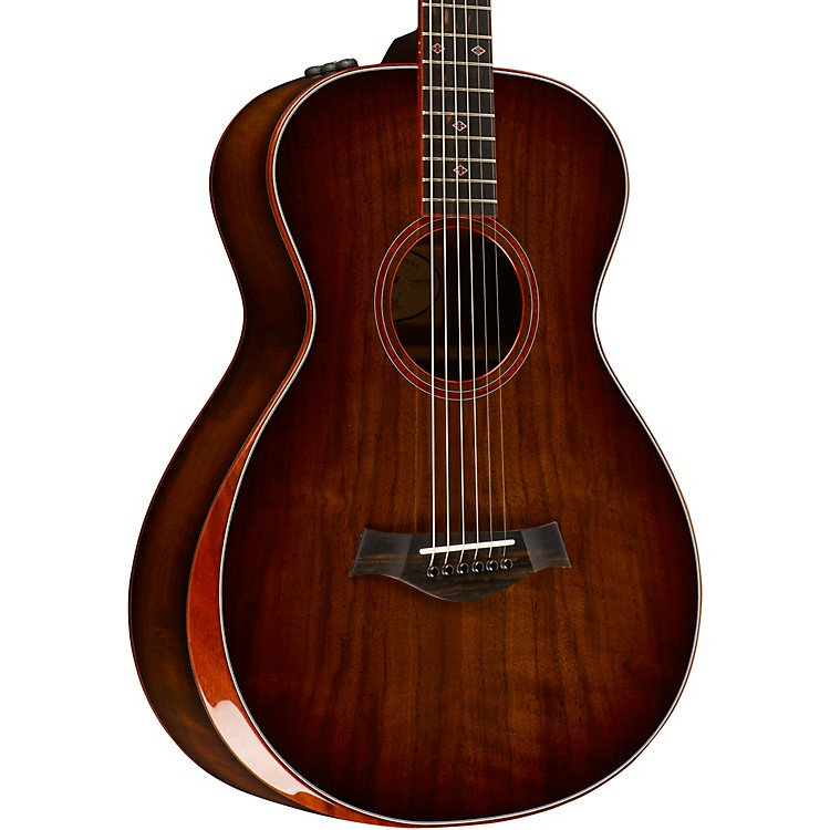 TaylorTaylor Custom #10028 12-Fret Grand Concert Acoustic-Electric GuitarShaded Edge Burst