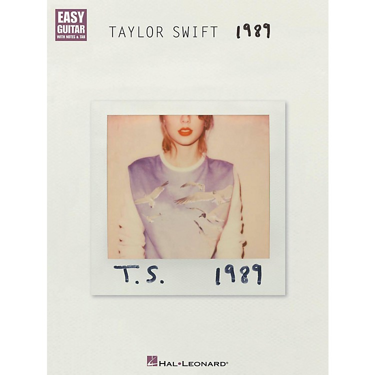 Hal Leonard Taylor Swift - 1989 Easy Guitar Tab