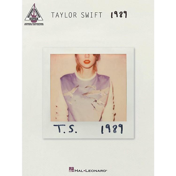Hal LeonardTaylor Swift - 1989 Guitar Tab Songbook