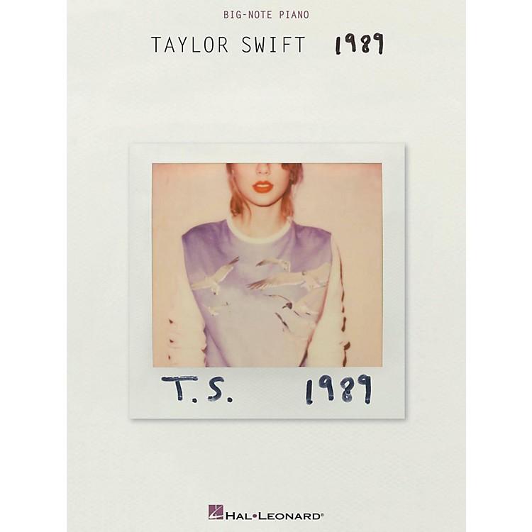 Hal LeonardTaylor Swift - 1989 for Big Note Piano