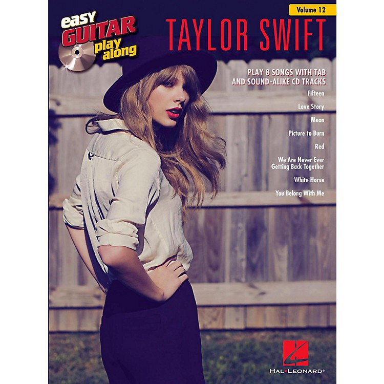 Hal Leonard Taylor Swift - Easy Guitar Play-Along Volume 12 Book/CD