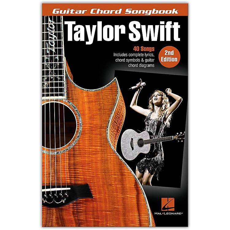 Hal LeonardTaylor Swift - Guitar Chord Songbook - 2nd Edition