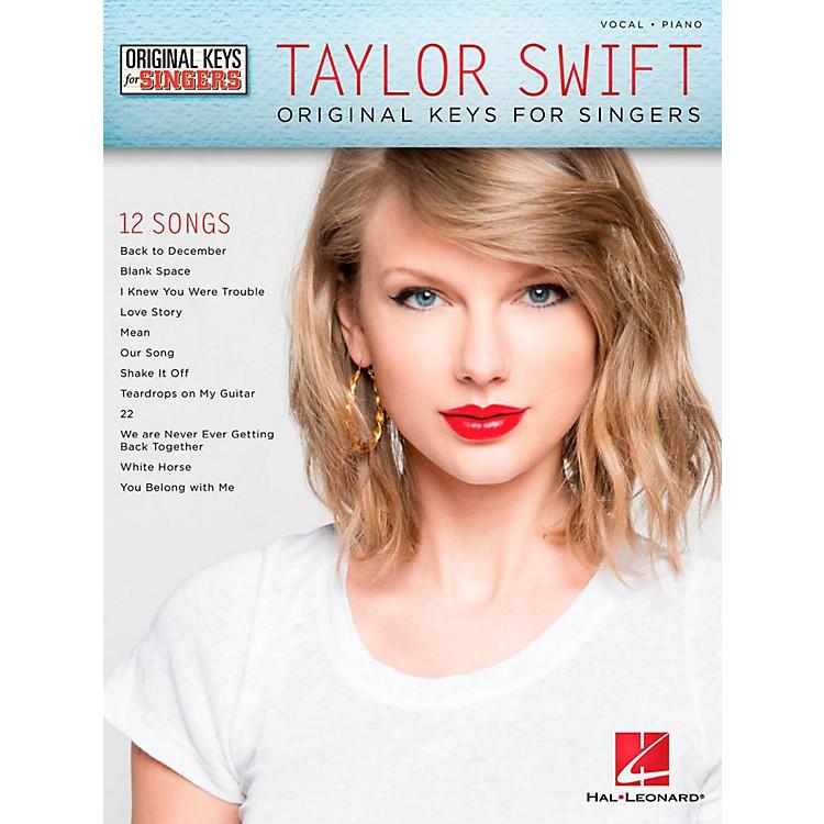 Hal LeonardTaylor Swift - Original Keys For Singers
