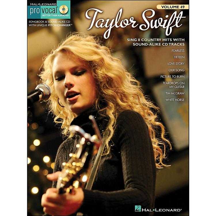 Hal LeonardTaylor Swift - Pro Vocal Songbook & CD for Female Singers Volume 49