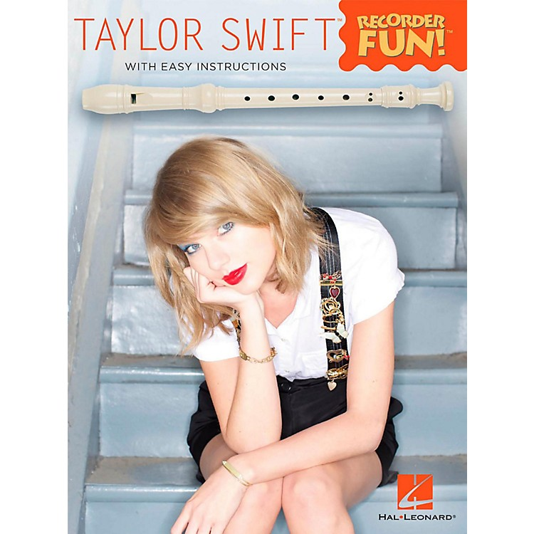 Hal Leonard Taylor Swift - Recorder Fun! Songbook