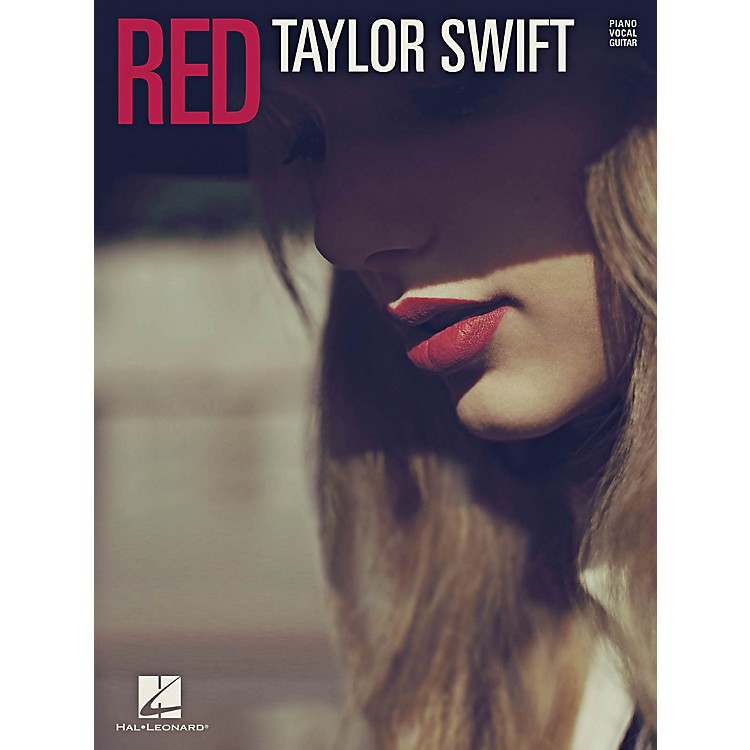 Hal LeonardTaylor Swift - Red for PVG (Piano, Vocal, Guitar)