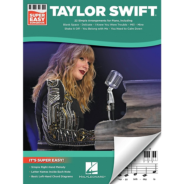 Hal LeonardTaylor Swift - Super Easy Songbook