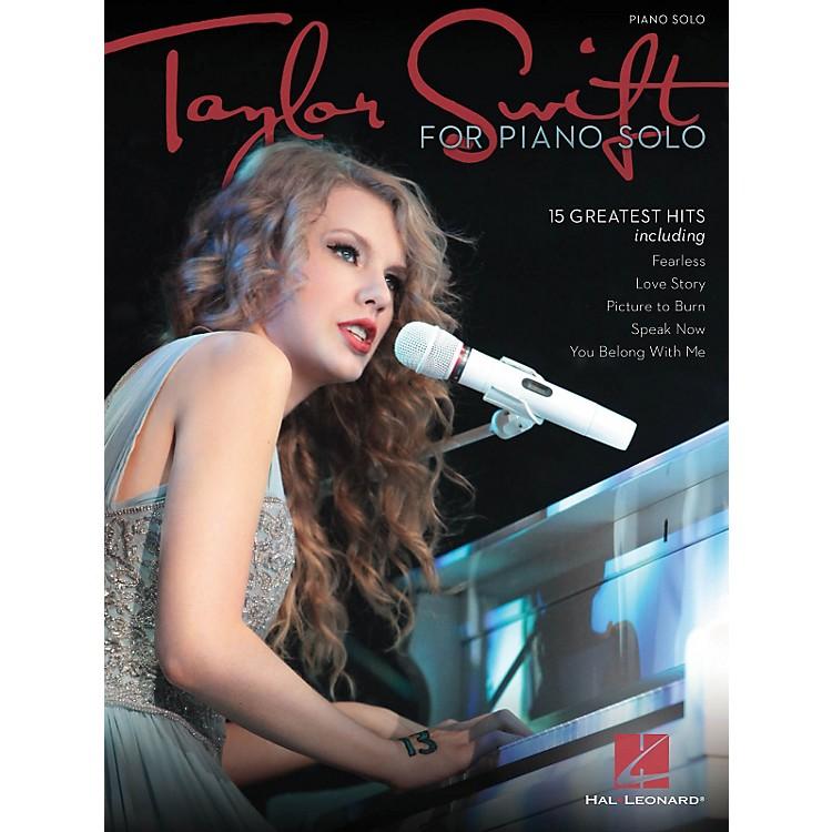 Hal LeonardTaylor Swift For Piano Solo