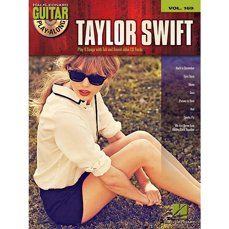 Hal Leonard Taylor Swift Hits - Guitar Play-Along Volume 169 Book/CD