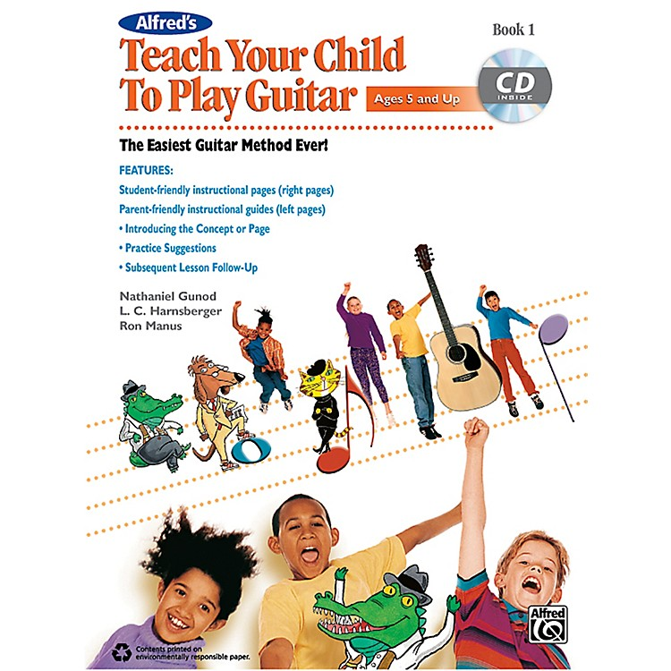 Alfred Teach Your Child to Play Guitar Book 1 & CD