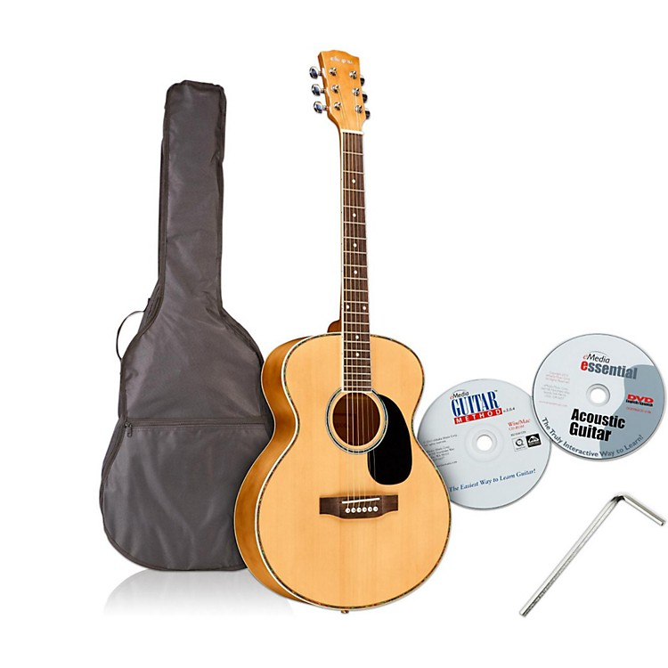 Emedia Teach Yourself Acoustic Guitar Pack - Steel String
