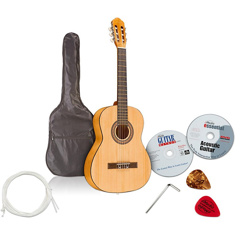 EmediaTeach Yourself Classical Guitar Pack - Nylon String
