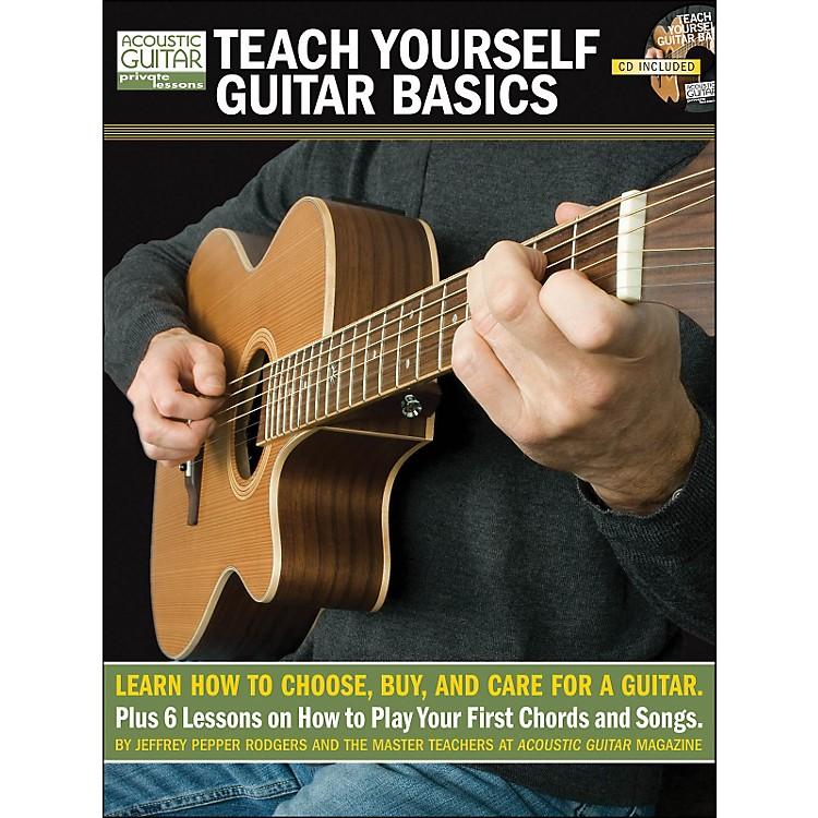 Hal LeonardTeach Yourself Guitar Basics (Book/CD Package)