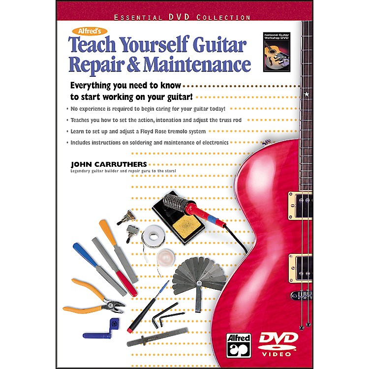 Alfred Teach Yourself Guitar Repair and Maintenance (DVD)
