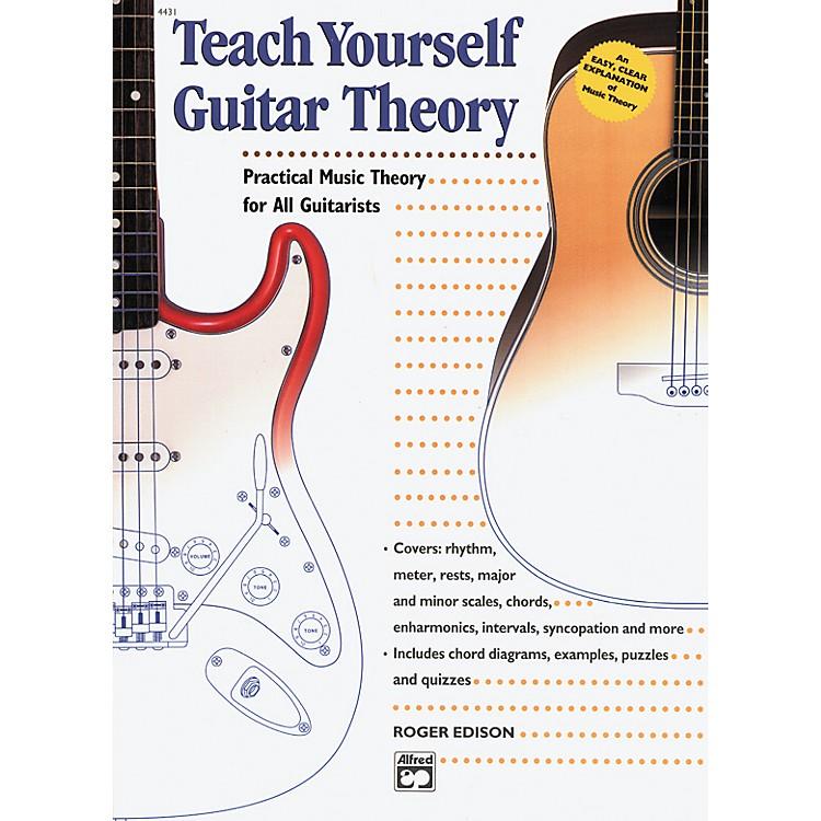 AlfredTeach Yourself Guitar Theory Book