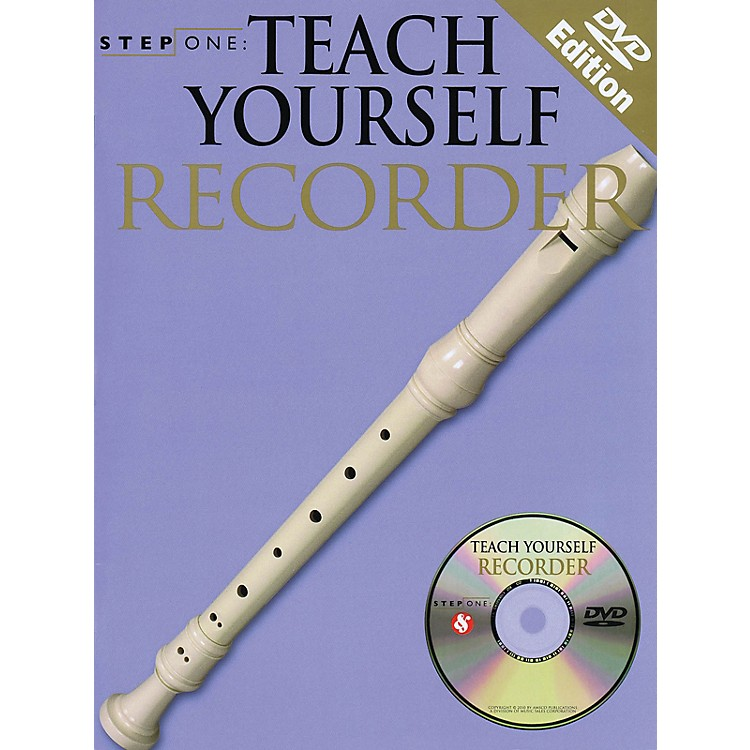 Music SalesTeach Yourself Recorder (Step One Series) Music Sales America Series Softcover with CD by Various Authors
