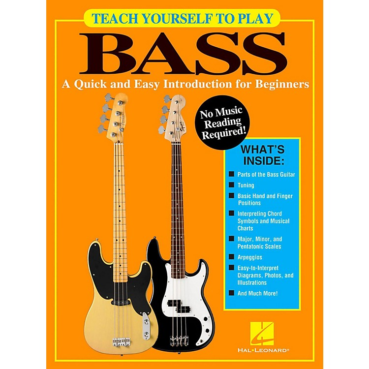 Hal LeonardTeach Yourself To Play Bass - A Quick & Easy Introduction For Beginners