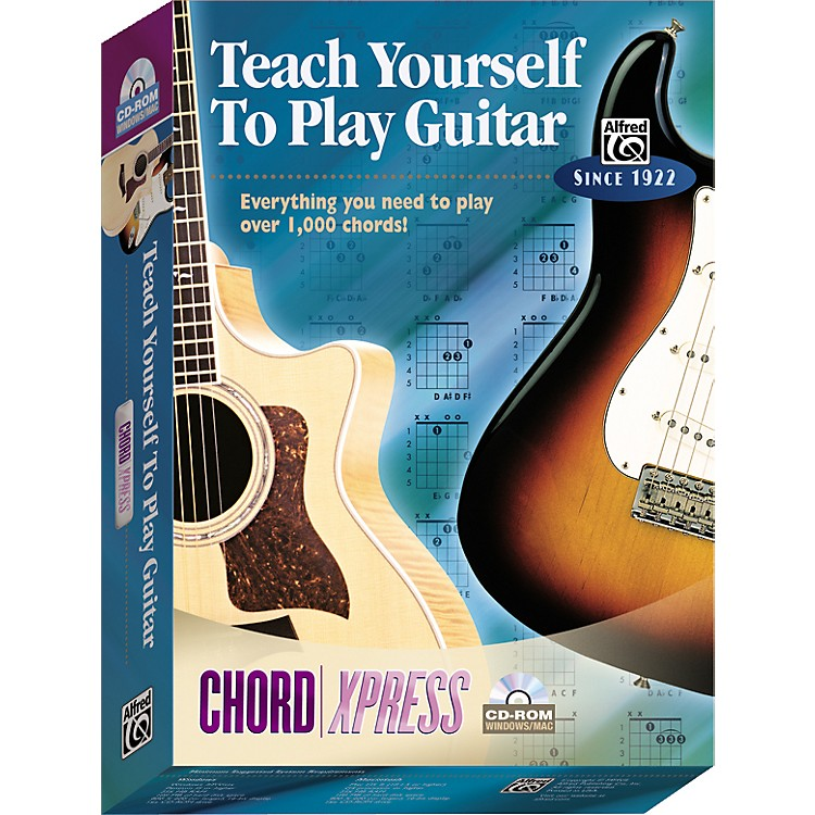 AlfredTeach Yourself To Play Guitar: ChordXpress CD-ROM