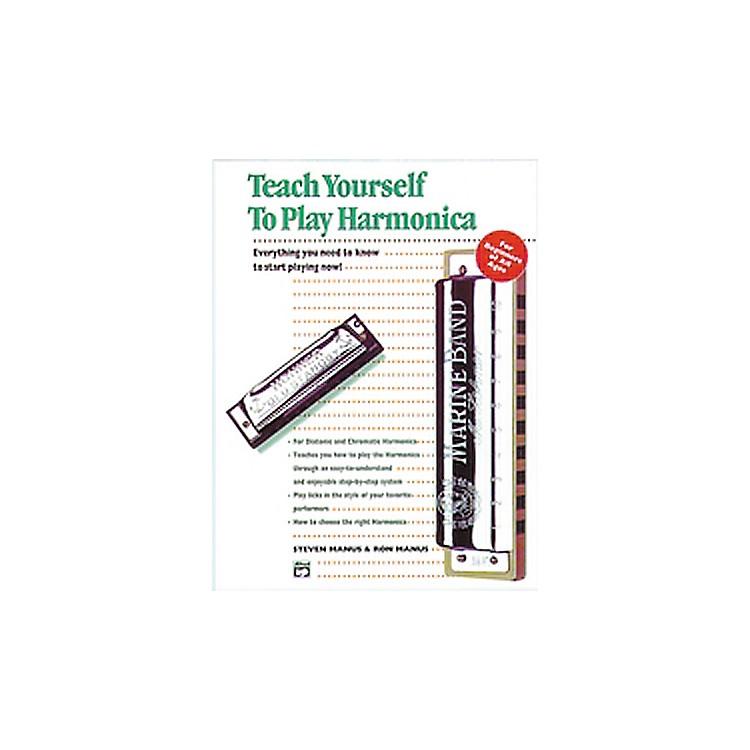 AlfredTeach Yourself To Play Harmonica Book