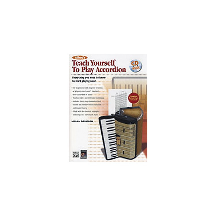 AlfredTeach Yourself to Play Accordion Book/CD
