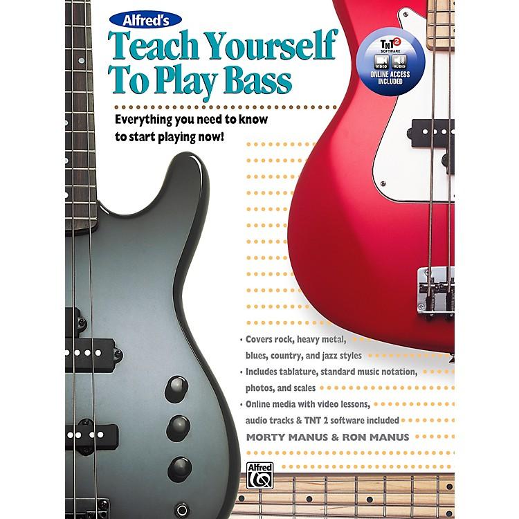 AlfredTeach Yourself to Play Bass Book & DVD