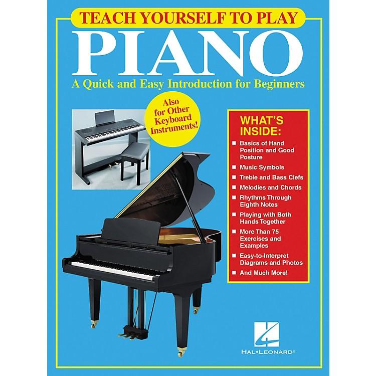 Hal LeonardTeach Yourself to Play Piano Book