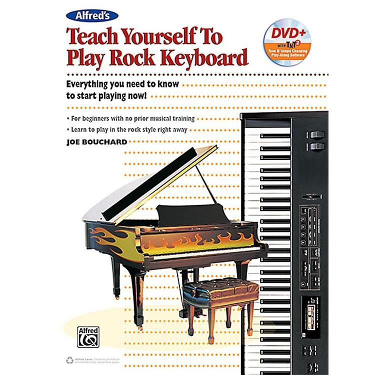 AlfredTeach Yourself to Play Rock Keyboard Book & DVD