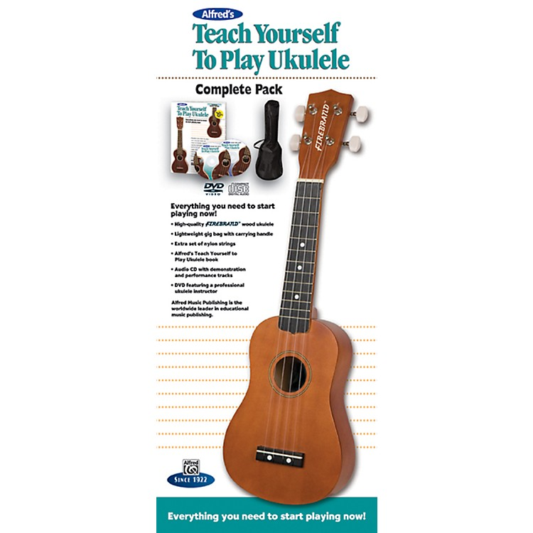 AlfredTeach Yourself to Play Ukulele Complete Starter Pack