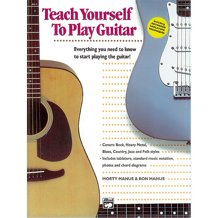 AlfredTeach Yourself to Play the Guitar Book/CD