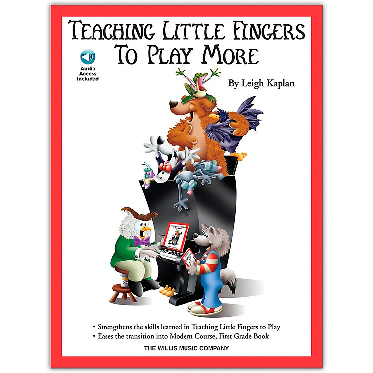 Willis MusicTeaching Little Fingers To Play More (Book/Online Audio)