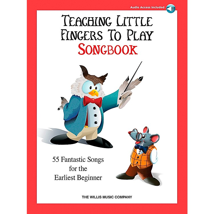 Willis MusicTeaching Little Fingers To Play Songbook Book/2CD's