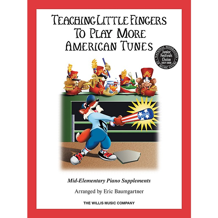 Willis Music Teaching Little Fingers to Play More American Tunes - Book only (Mid-Elem Level) Willis Series