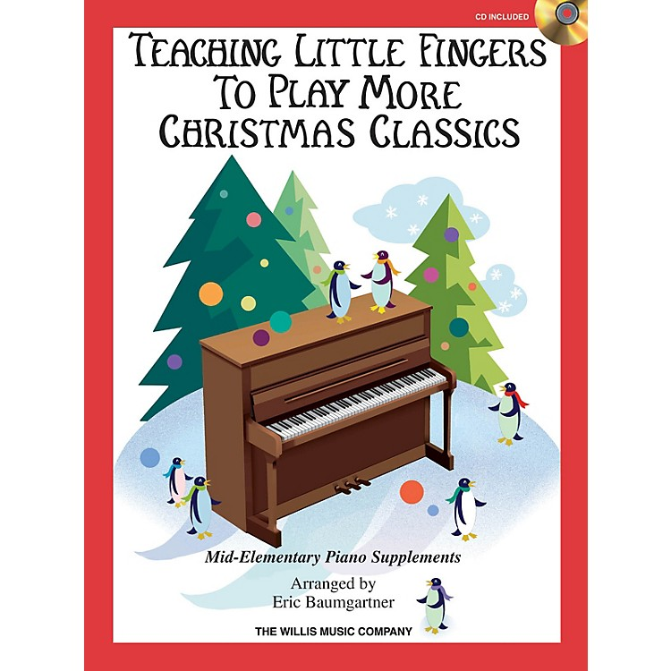 Willis MusicTeaching Little Fingers to Play More Christmas Classics Willis Series Book with CD (Level Mid-Elem)