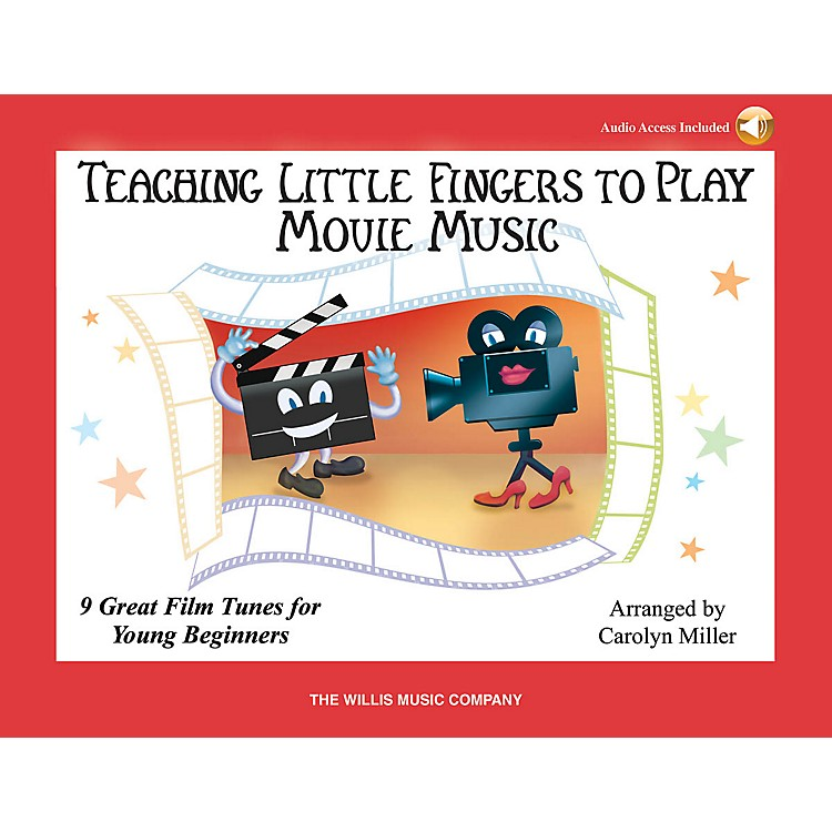 Willis MusicTeaching Little Fingers to Play Movie Music Willis Series Book Audio Online (Level Early to Mid-Elem)