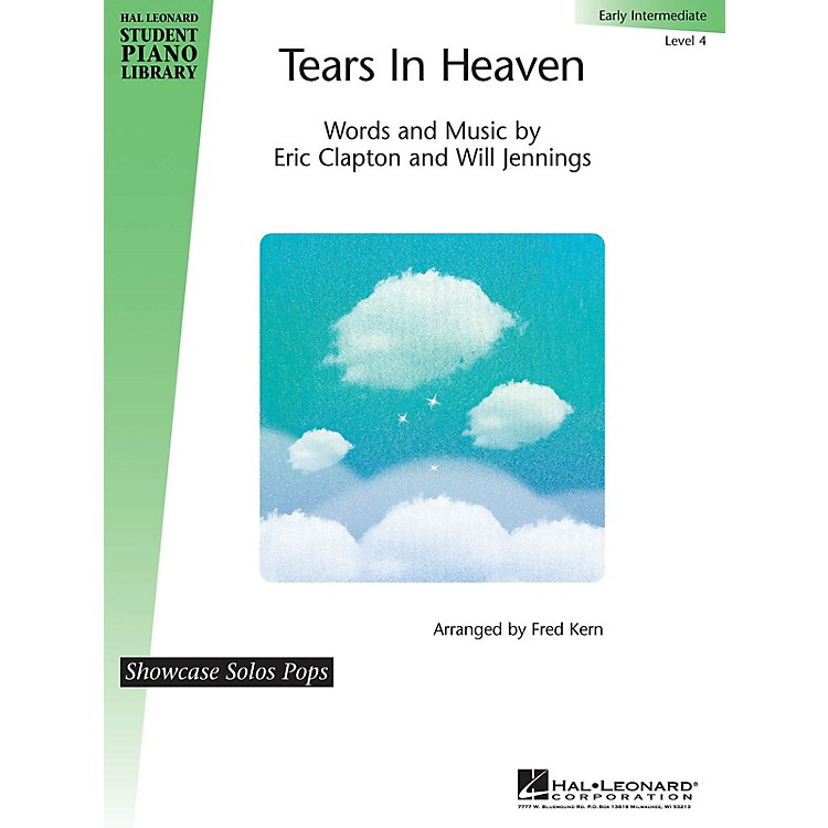 Hal LeonardTears in Heaven Piano Library Series Performed by Eric Clapton (Level Early Inter)