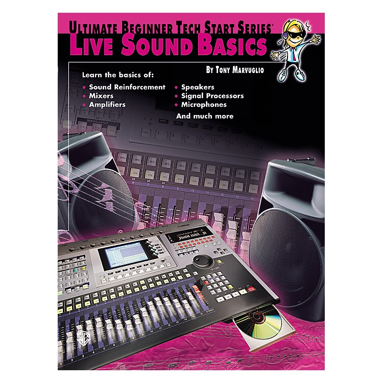 AlfredTech Start Live Sound Basics Book