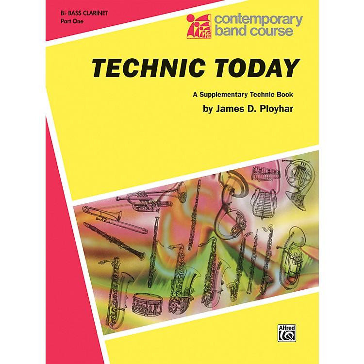 AlfredTechnic Today Part 1 B-Flat Bass Clarinet