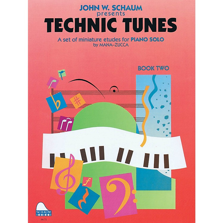SCHAUMTechnic Tunes, Bk 2 Educational Piano Series Softcover