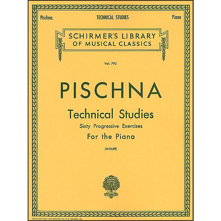 G. SchirmerTechnical Studies Piano 60 Progressive Exercises By Pischna