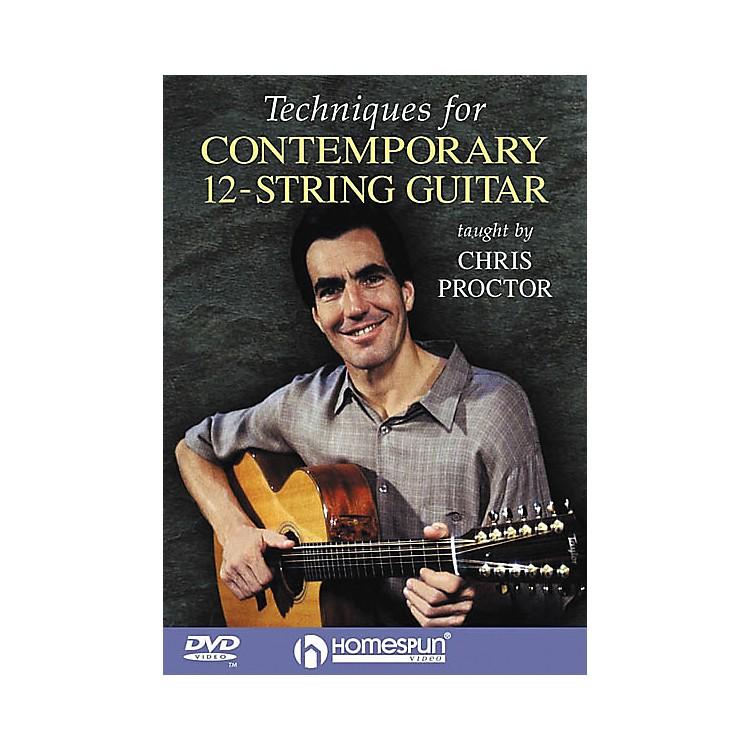 HomespunTechniques for Contemporary 12-String Guitar (DVD)