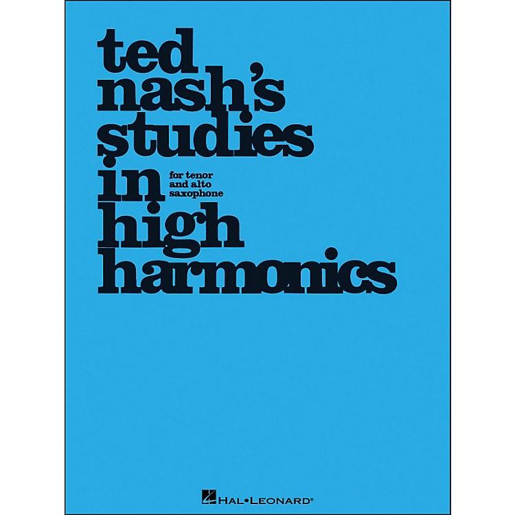 Hal LeonardTed Nash's Studies In High Harmonics for Tenor And Alto Saxophone