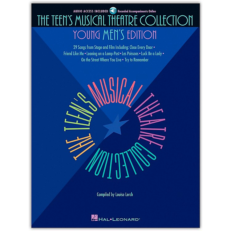 Hal LeonardTeen's Musical Theatre Collection - Young Men's Edition (Book/Online Audio)