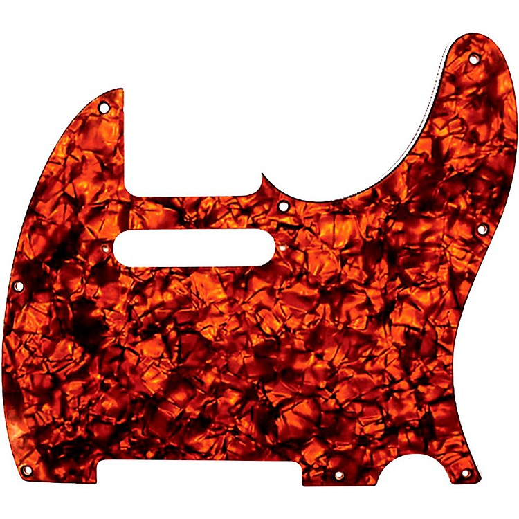 D'Andrea Tele Pickguard Orange Pearl