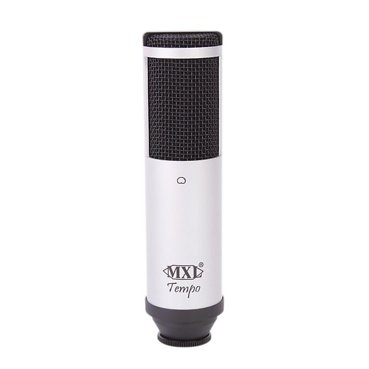 MXLTempo USB Condenser MicrophoneSilver/Black Grill